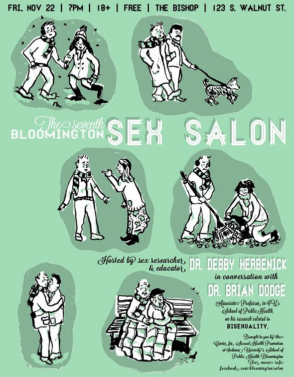 The Seventh Bloomington Sex Salon Poster
